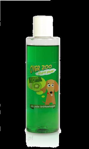 Over zoo Szampon kiwi - zielony dla psów krótkowłosych (200 ml) (Over057)