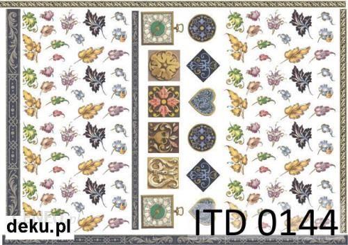 Papier decoupage A4 210x297 itd 0144m 414
