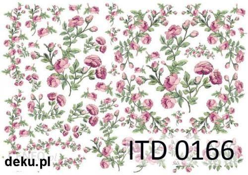 Papier decoupage A4 210x297 itd 0166m 393
