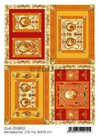 Papier do decoupage B2 50x70 TO-DO C010010 1928