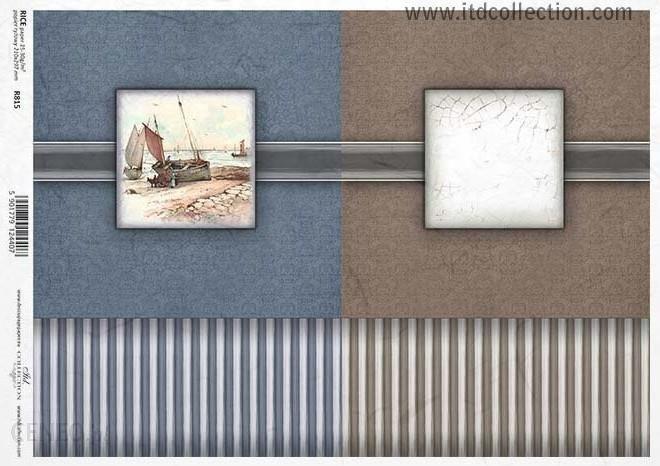 Papier ryżowy 297x210mm 815