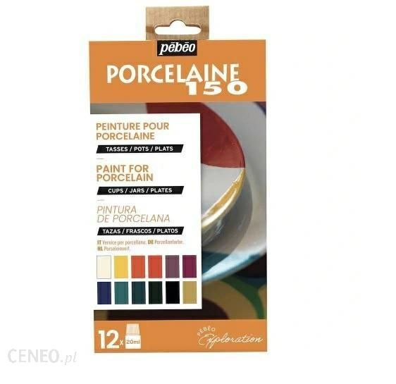 Pebeo Farby Do Porcelany Porcelaine 150