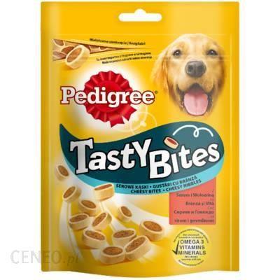 Pedigree Tasty Bites Serowe Kąski 140g