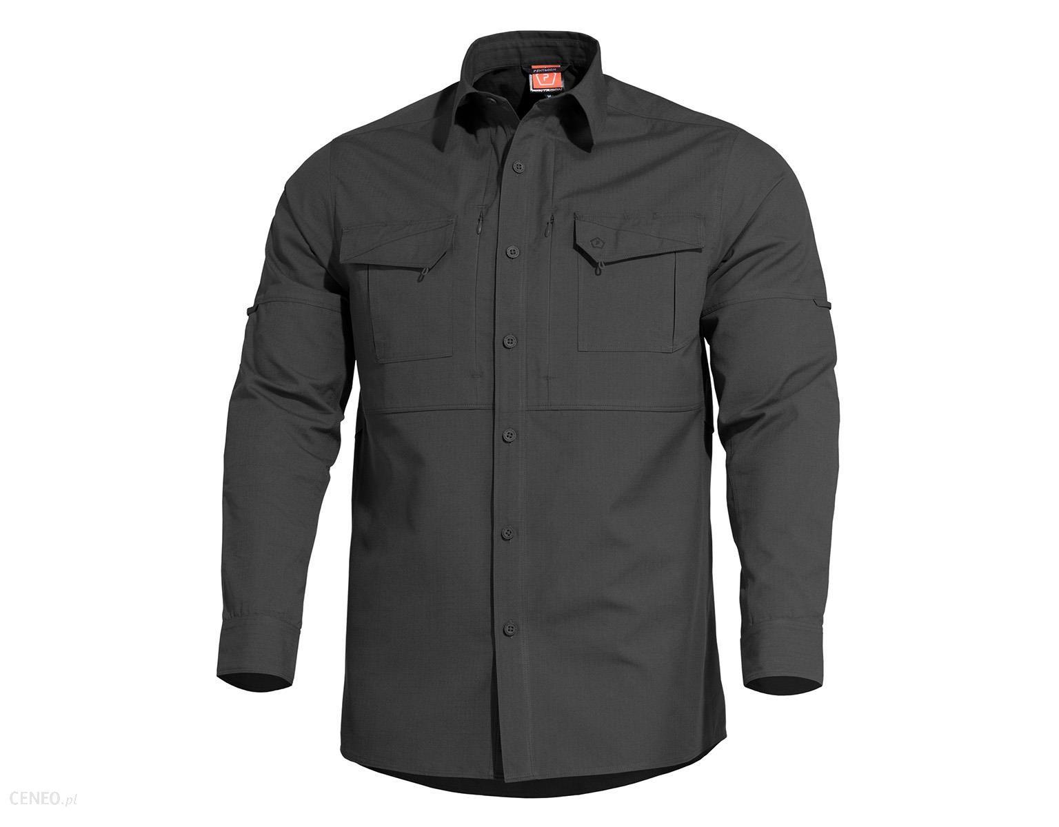 Pentagon Koszula Taktyczna Plato Black (K02019-01)