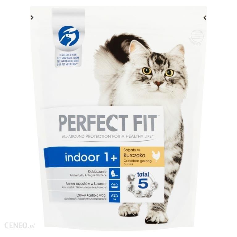 Perfect Fit Indoor 1+ karma dla kotów z kurczakiem 1