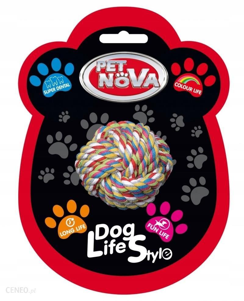 Pet Nova Superdental piłka sznurowa czyści zęby 6c