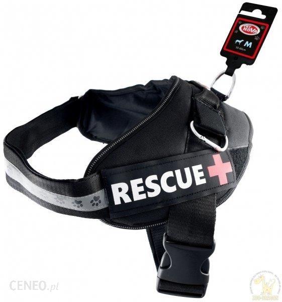 Pet Nova Szelki Rescue+ M Czarne