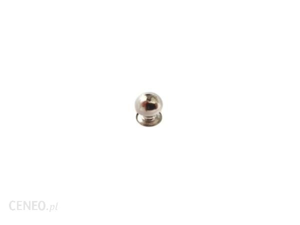 PielegnacjaObuwia Nit Bombka Nity Ozdoba 7mm 20szt Srebrny