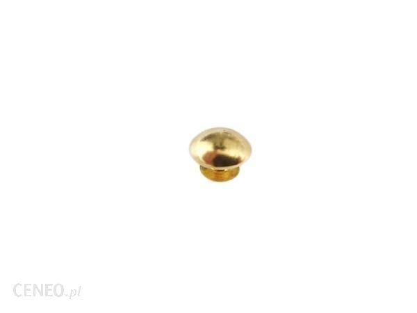 PielegnacjaObuwia Nit Bombka Nity Ozdoba 9mm 20szt Złoty