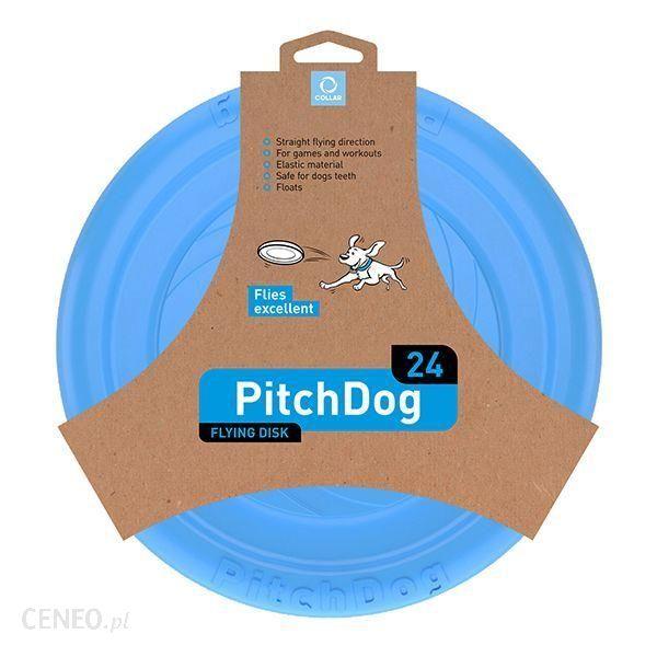 Pitch Dog Dysk Latający Dla Psa 24Cm Niebieski