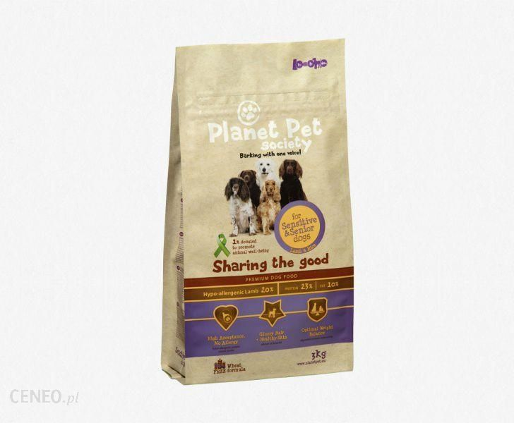 PLANET PET Adult Sensitive & Senior Jagnięcina 15kg