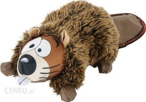 Pluszowy Bóbr przytulanka dla psa Piszczy 24cm