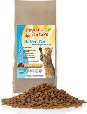 POWER OF NATURE Active Cat Cookies Choice Kurczak Brązowy Ryż 2kg