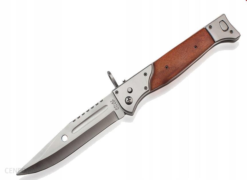 Prc Nóż Składany Sprężynowy N-708 Ak-47 34Cm Etui