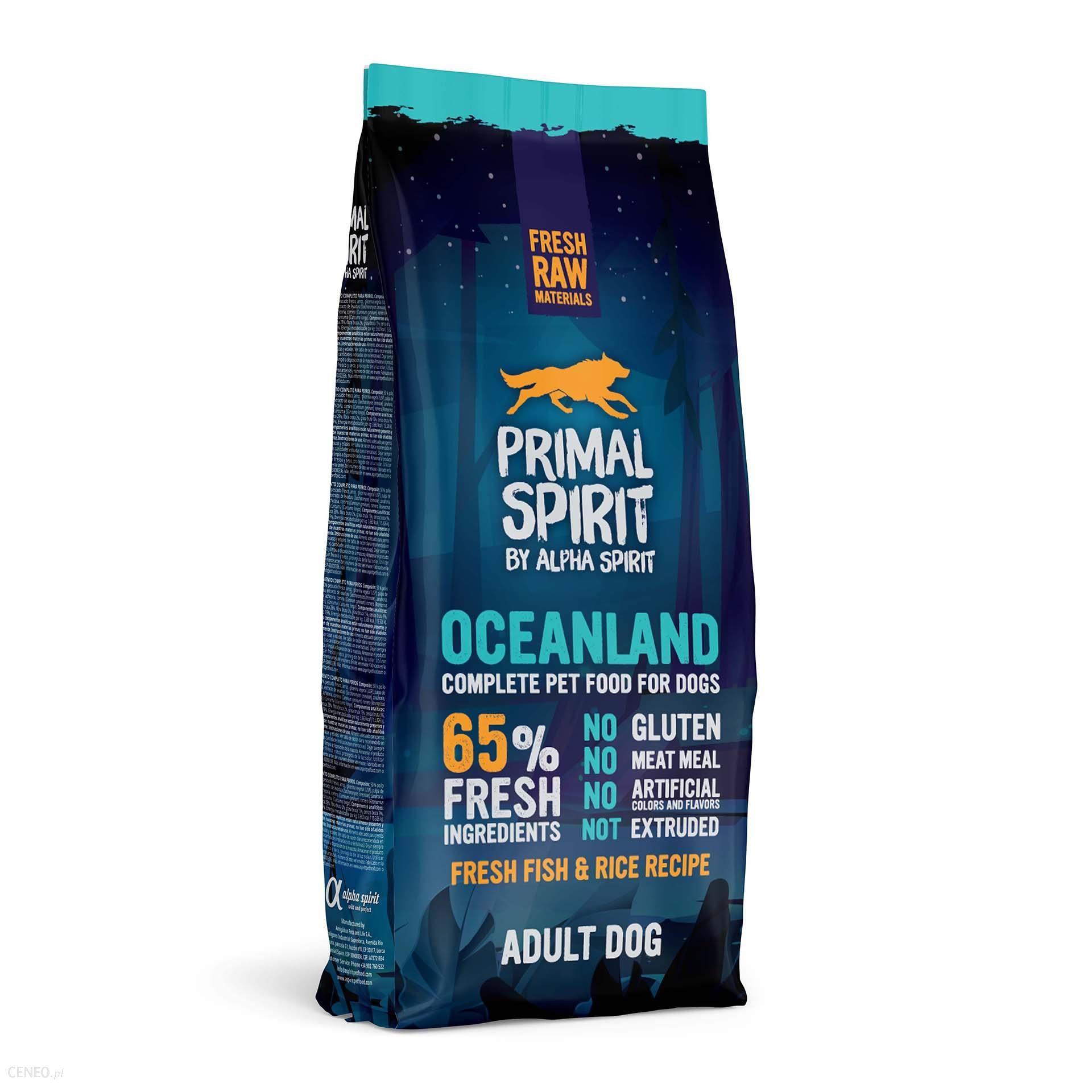 Primal Spirit 65% Oceanland 12Kg