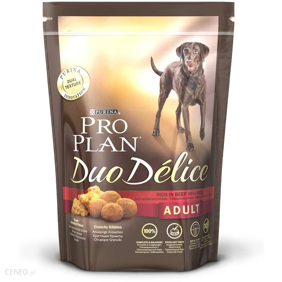 Pro Plan Duo Delice Adult Wołowina 700g