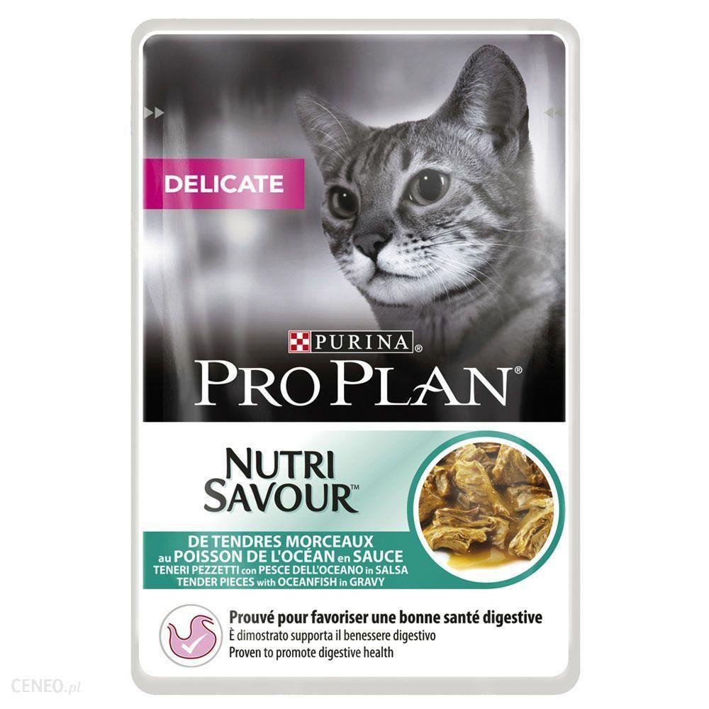 Pro Plan Nutrisavour Delicate Ryba 12x85g