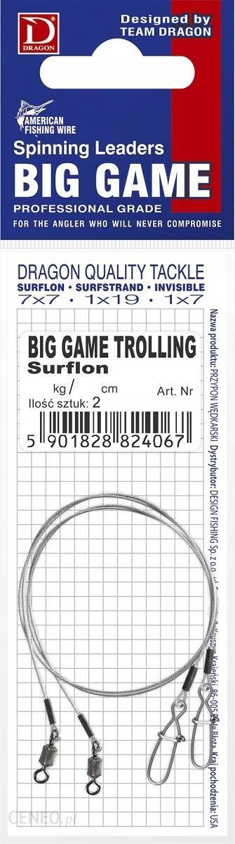 PRZYPON SURFLON 7X7 BIG GAME TROLLING 30KG 100CM PDF5243099