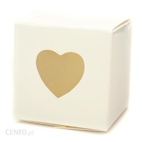 Pudełko z sercem 10szt
