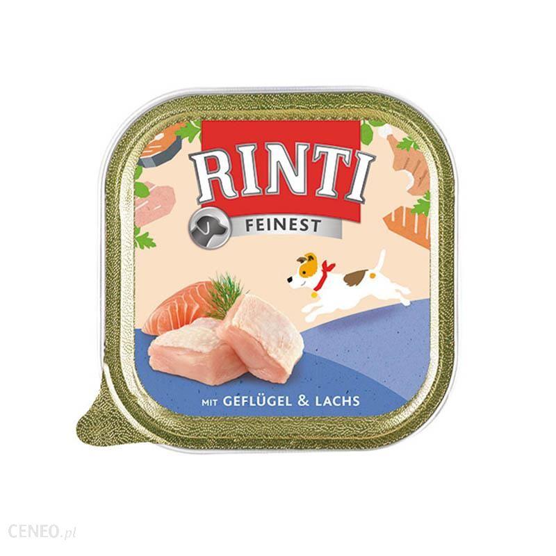 RINTI Feinest kurczak z łososiem 22x150g