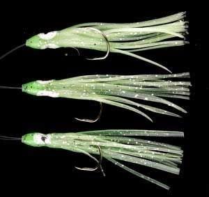 Ron Thompson Rig11 Octopus 10cm Glow 0.60mm 2 # 3/0 Hooks (42614)