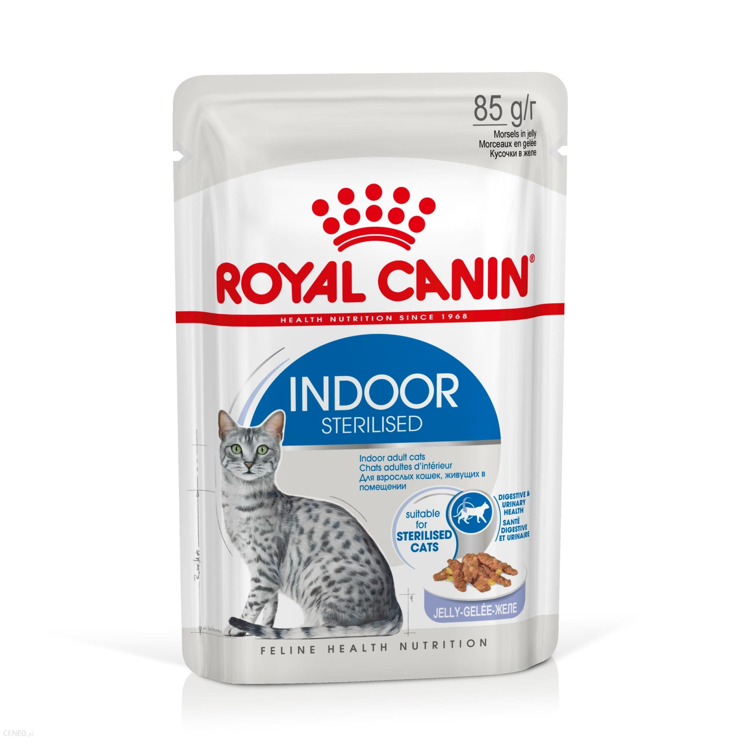 Royal Canin Indoor Sterilised w galaretce 12x85g