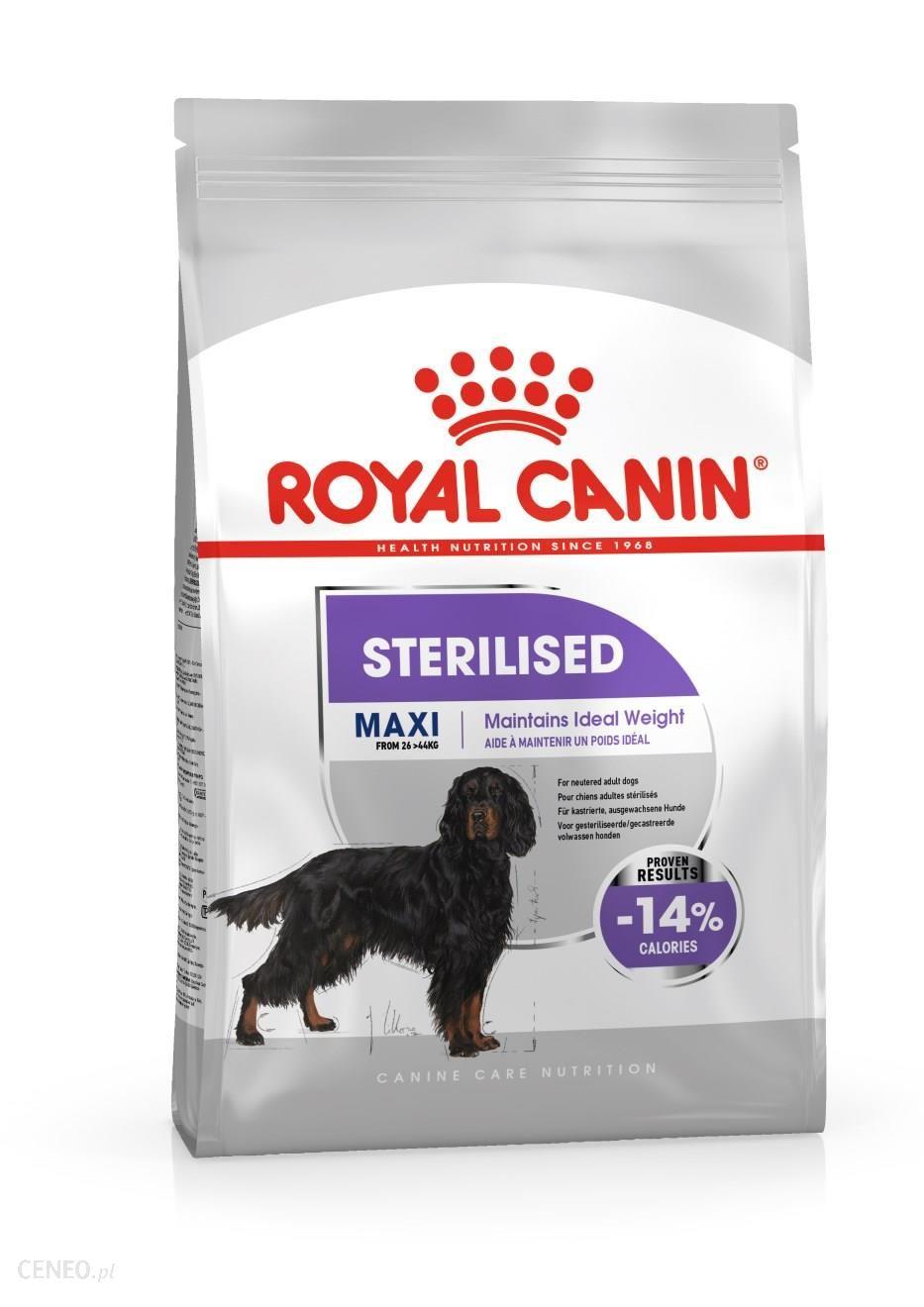 Royal Canin Maxi Sterilised 2x9Kg