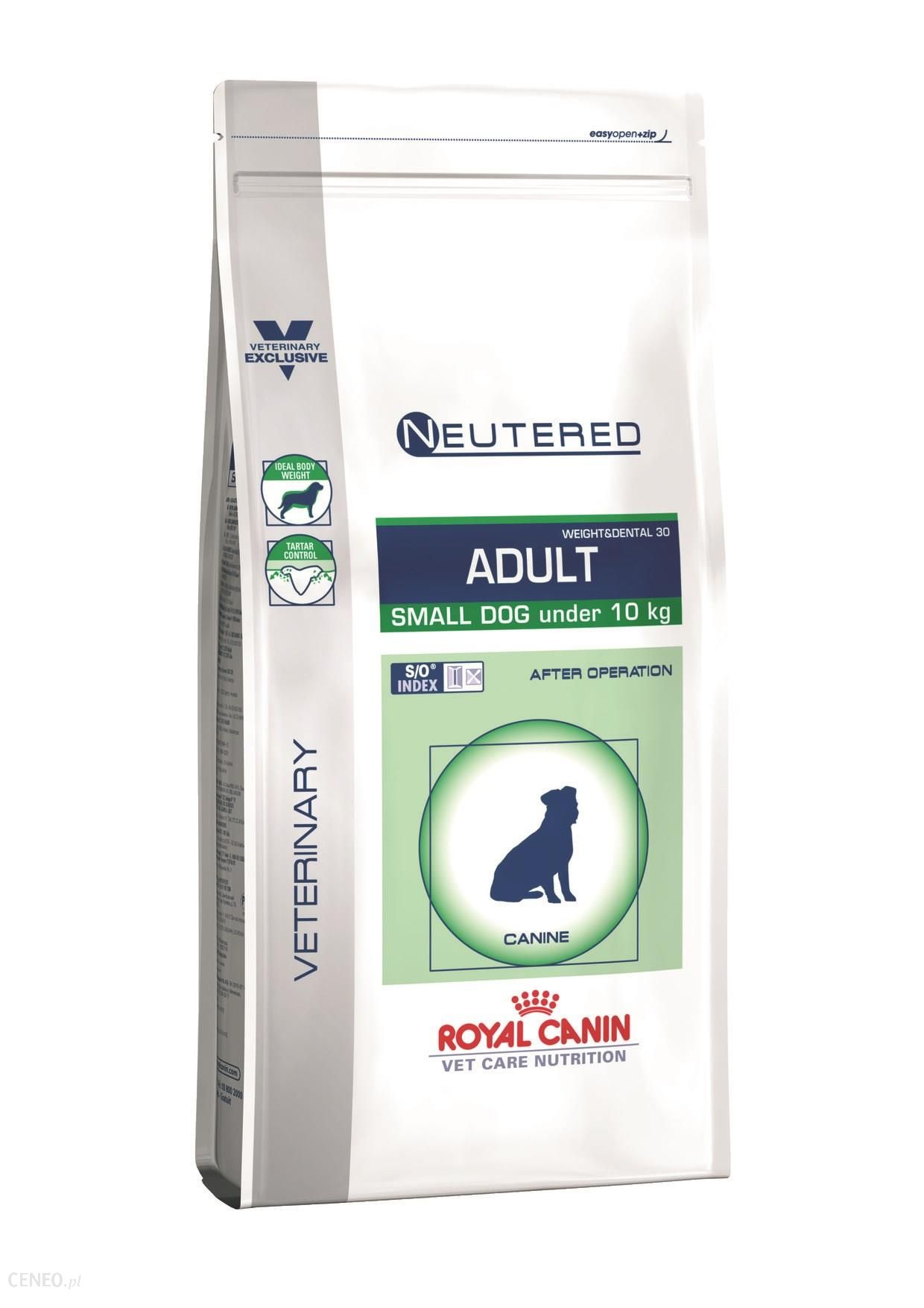Royal Canin Veterinary Care Nutrition Neutered Adult Small Weight&Dental 30 3