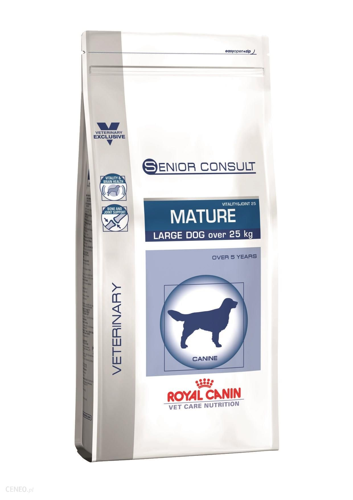 Royal Canin Veterinary Care Nutrition Senior Consult Mature Large Vitality&Joint 25 2x14kg