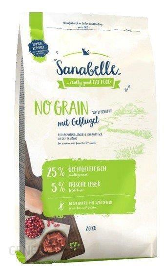 Sanabelle Adult No Grain Geflugel Bezzbożowa Z Drobiem 400G