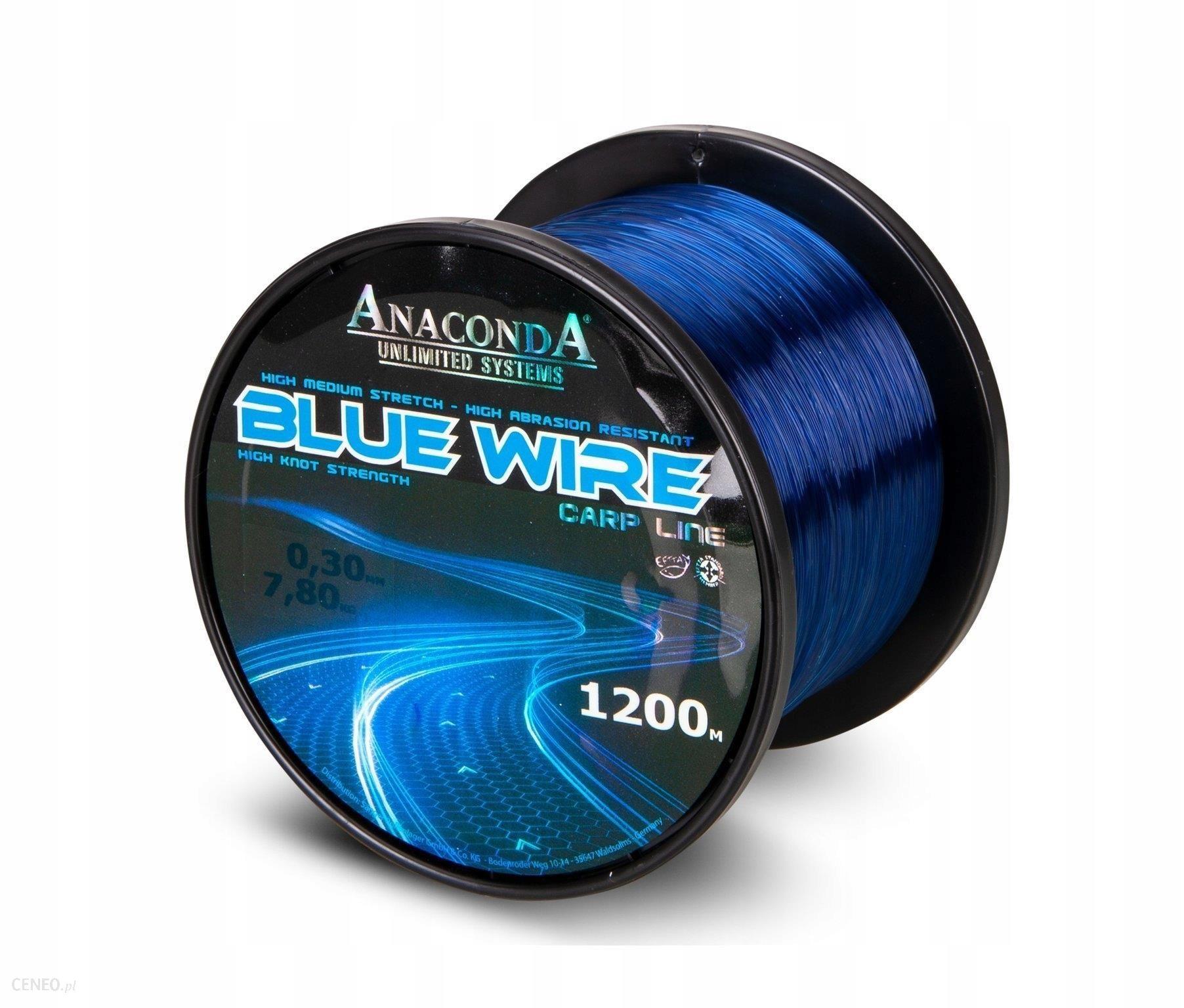 Sanger Żyłka Anaconda Blue Wire 0