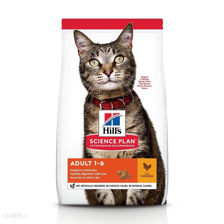 Science Plan Adult karma sucha dla kotów 10Kg