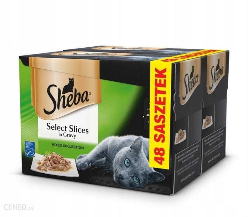 Sheba Select Slices in Gravy 48x85g