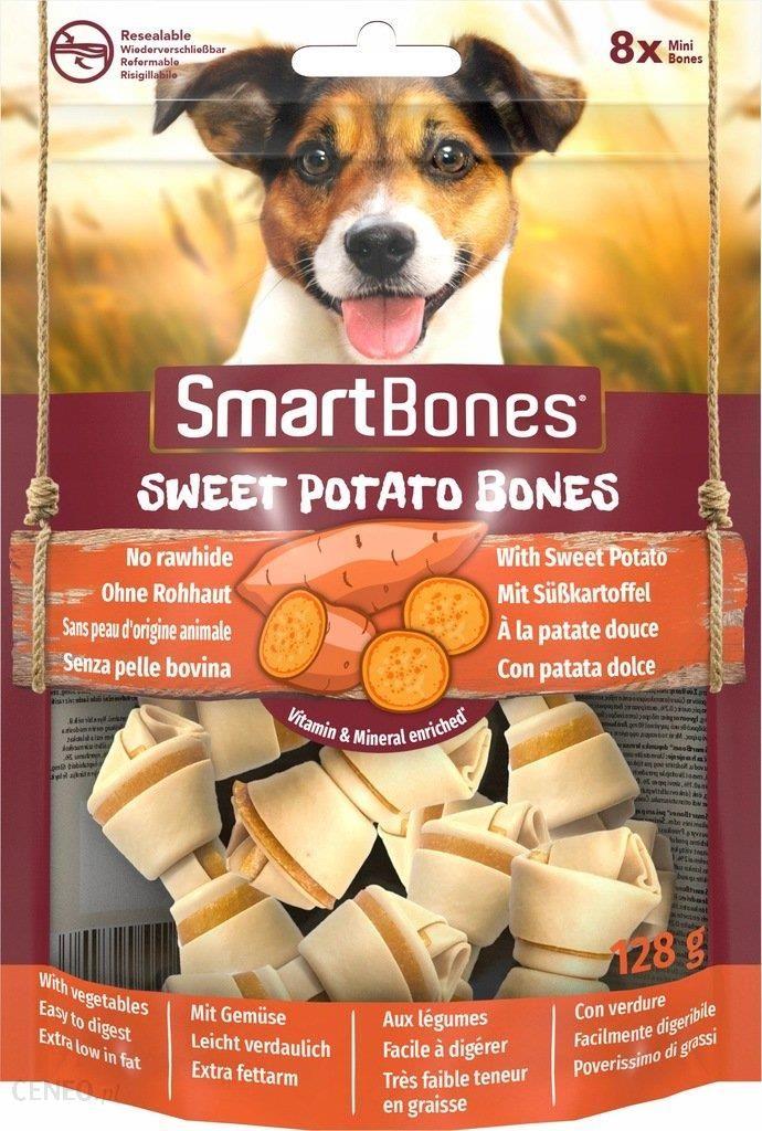 Smartbones Sweet Potato Mini Gryzak Dla Psów Ras Małych Bataty 8Szt