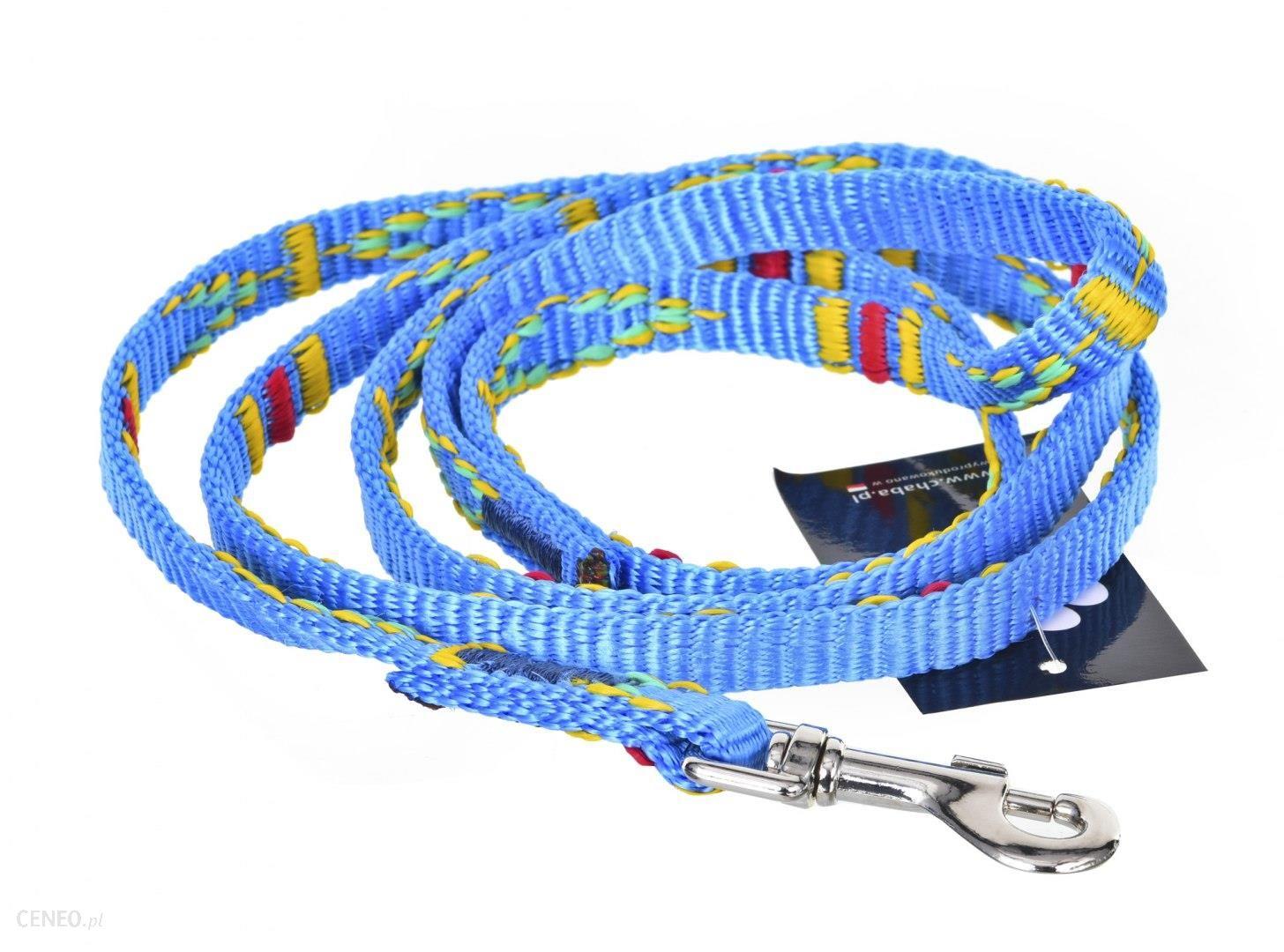 Smycz Ozdobna 10-130Cm Niebieska