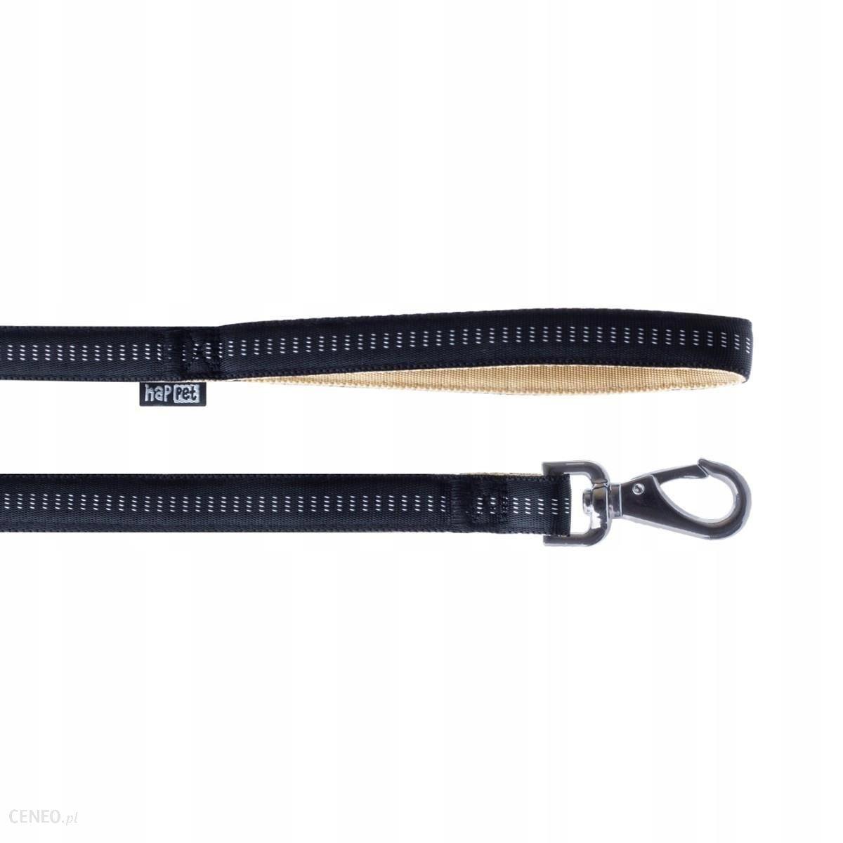 Smycz Soft Style Happet czarna XL 2.5 cm
