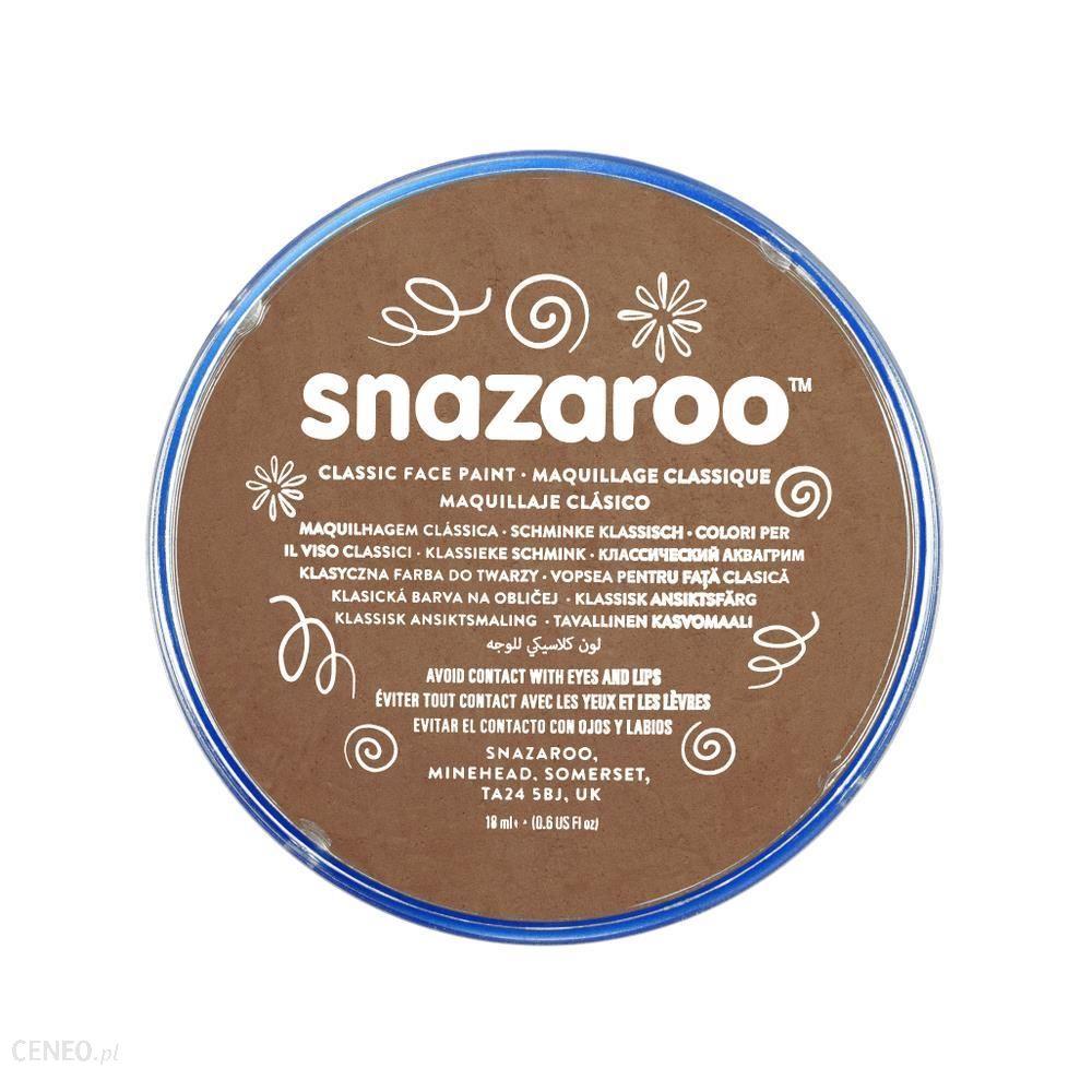 Snazaroo Farba Do Twarzy Brązowy Beż 18 ml