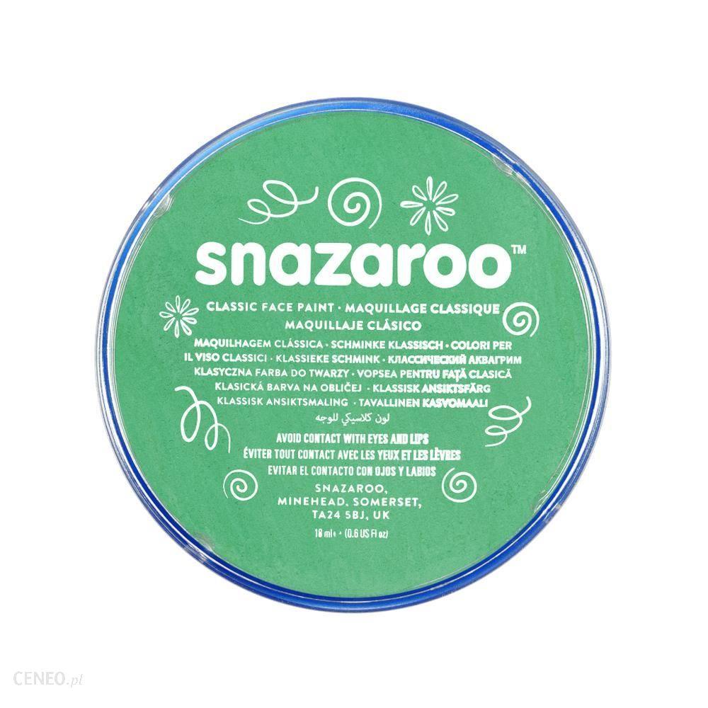 Snazaroo Farba Do Twarzy Jasny Zielony 18 ml