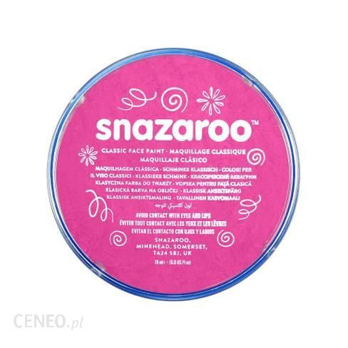 Snazaroo Farba Do Twarzy Różowy 18 ml