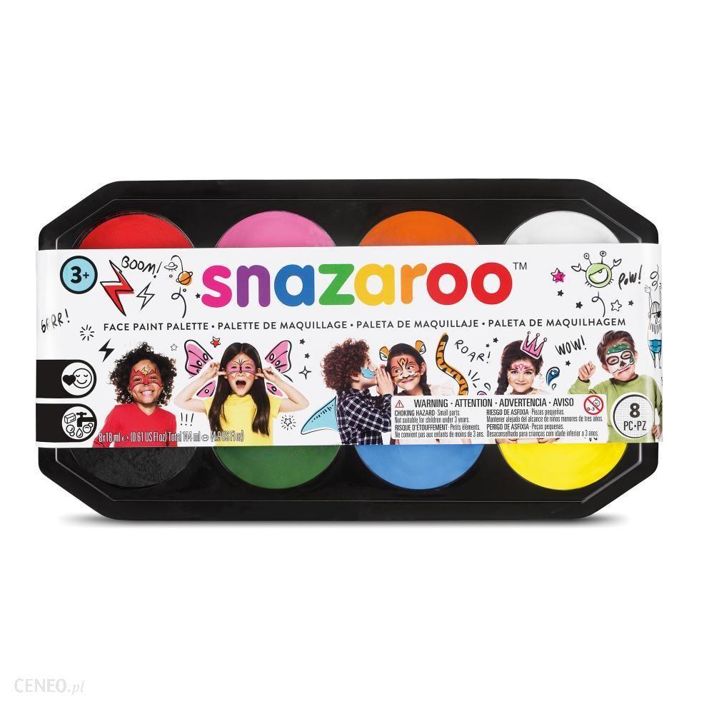 Snazaroo Paleta Farb Do Twarzy 8 X 18 Ml