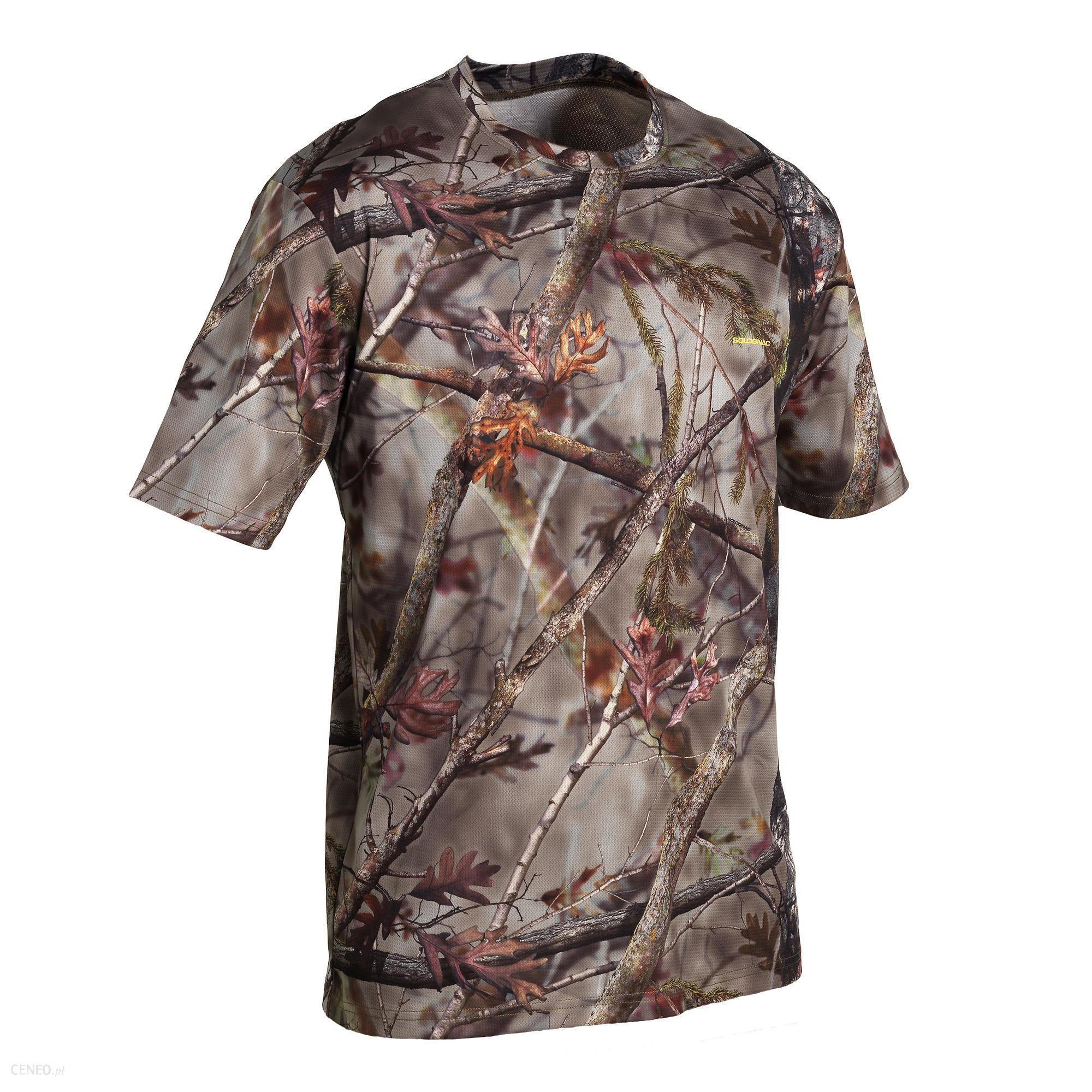 Solognac Koszulka Z Długim Rękawem Respi 100 Camo Brązowy Khaki M