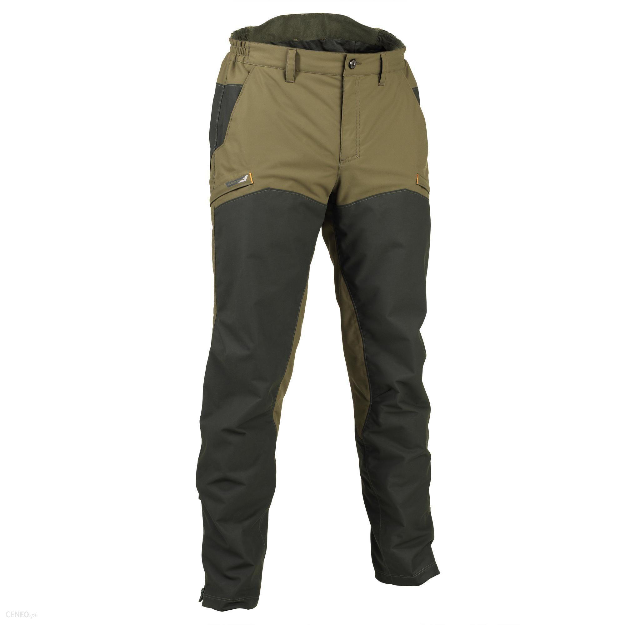 Solognac Spodnie Myśliwskie Wtp Renfort 520 Zielony Khaki S