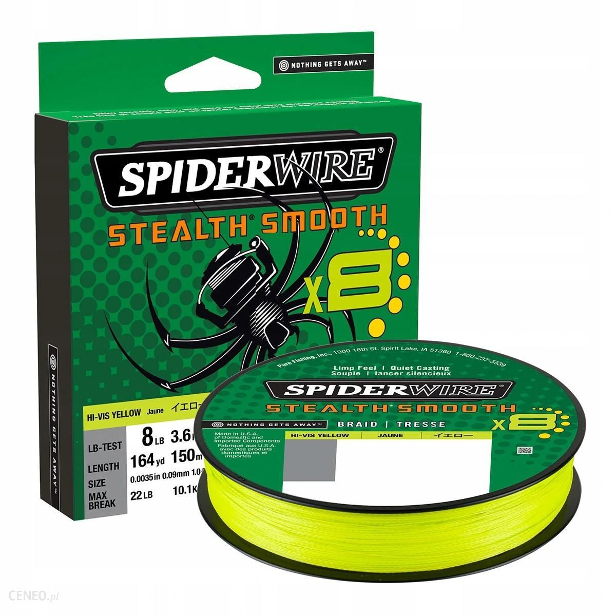 SPIDERWIRE STEALTH SMOOTH 8 0
