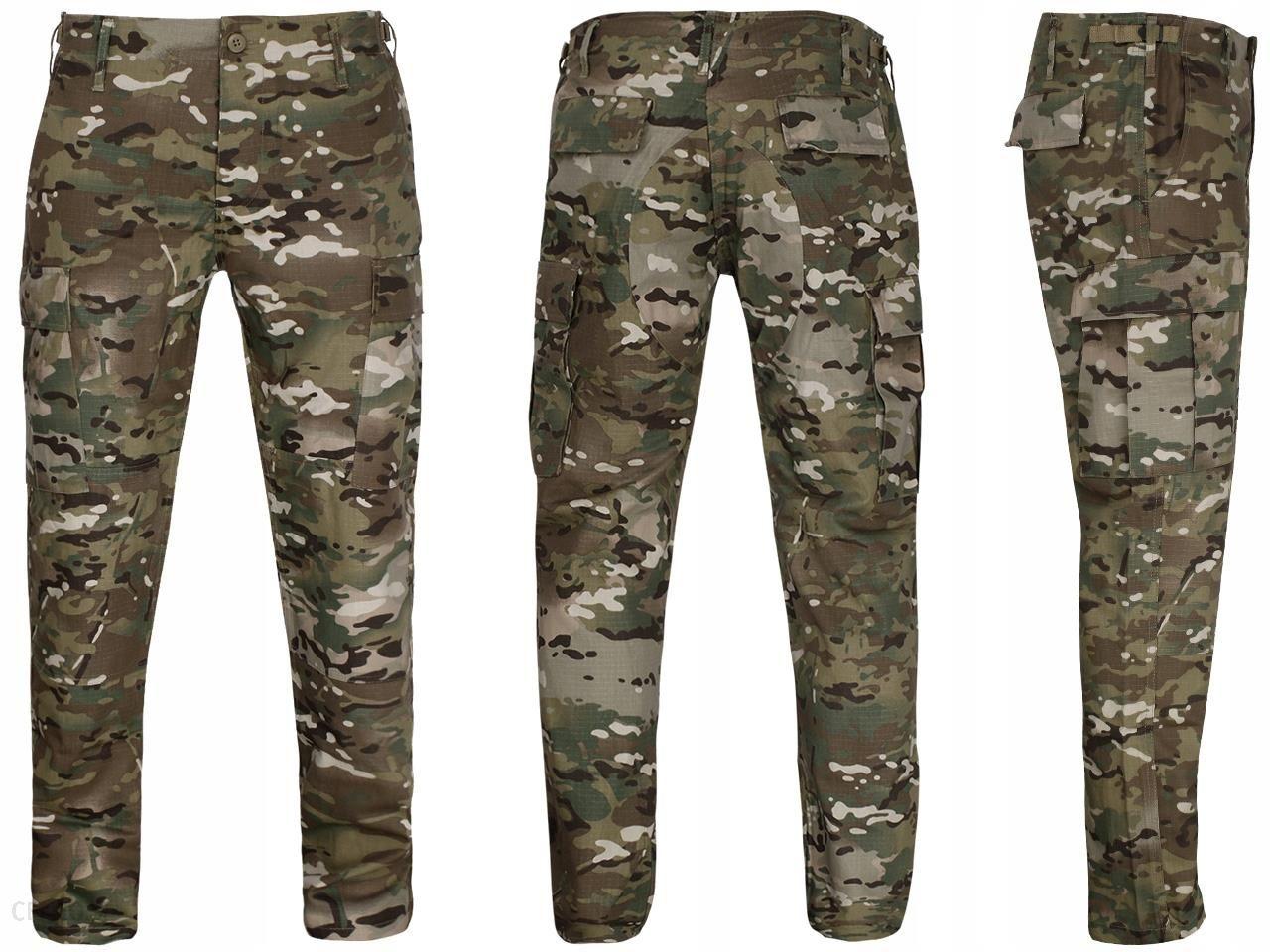 Spodnie Wojskowe Bdu Slim Fit RipStop Multicam XXL