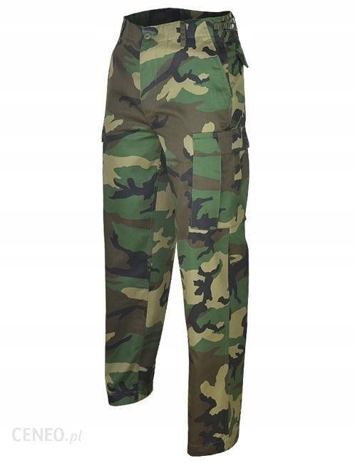 Spodnie Wojskowe Bojówki Bdu Ranger Woodland 4Xl