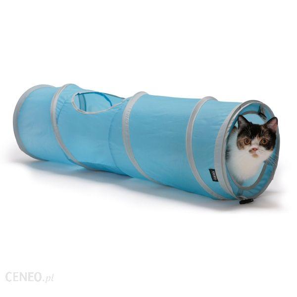 SPORTPET 28x28x91cm Tunel niebieski dla kota