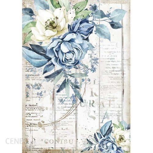 Stamperia Papier Ryżowy A4 Sea Dreams Kwiaty