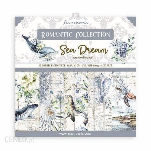 Stamperia Papiery Do Scrapbookingu Romantic Sea Dream 20X20Cm
