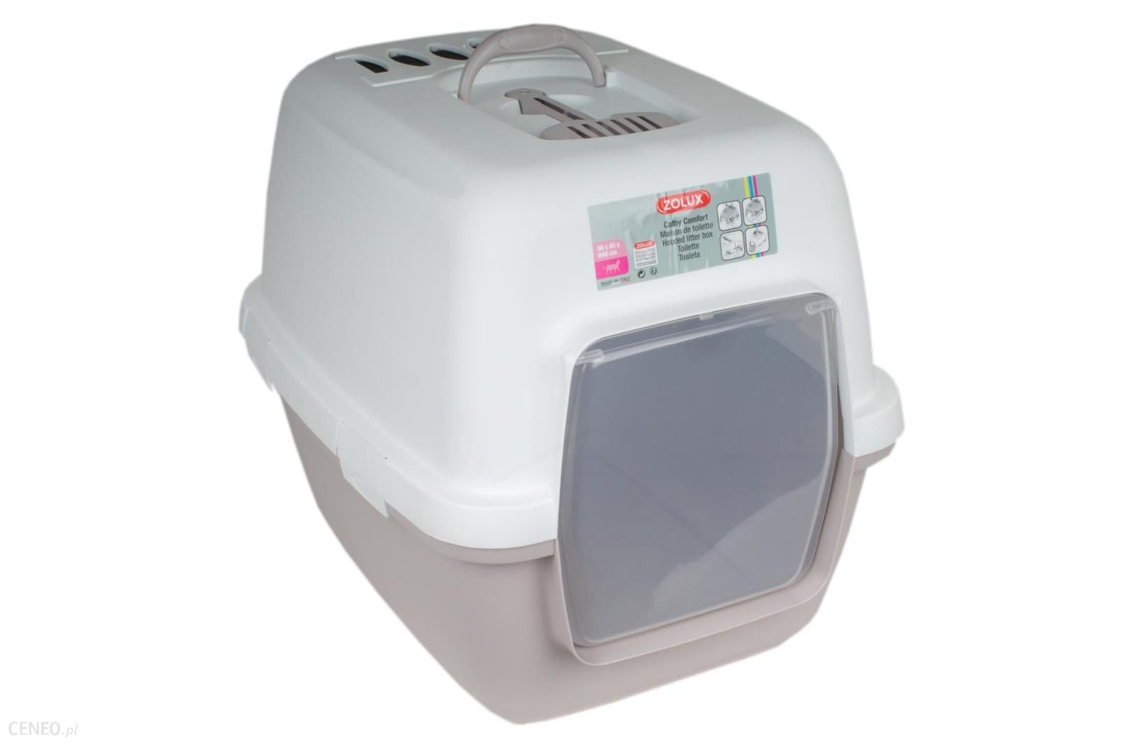 Stefanplast Cathy Comfort Toaleta + Filtr + Łopatka Beżowa (zl97956)