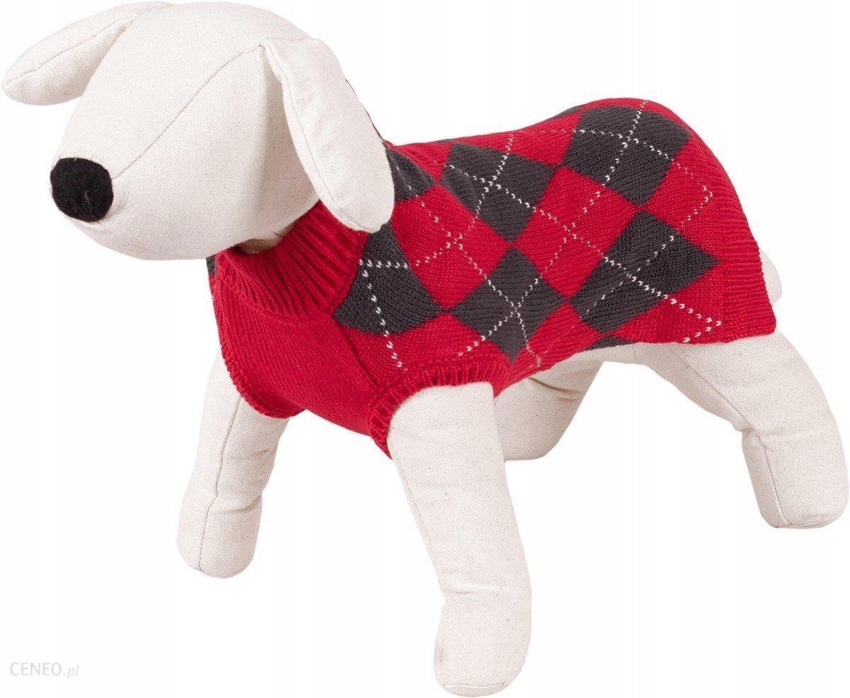 Sweter Sweterek Dla Psa Ciepła Romby L 35CM